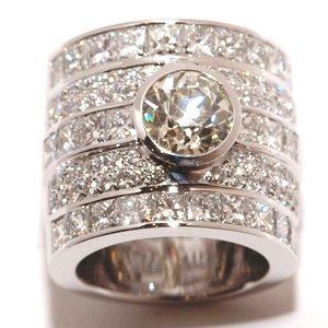 Diamond Parade huge diamond ring